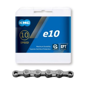 KMC e10 EPT 10-vaihteiselle sähköpyörälle