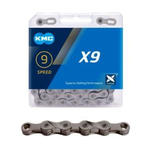 KMC X9 grey 9-vaihteiselle